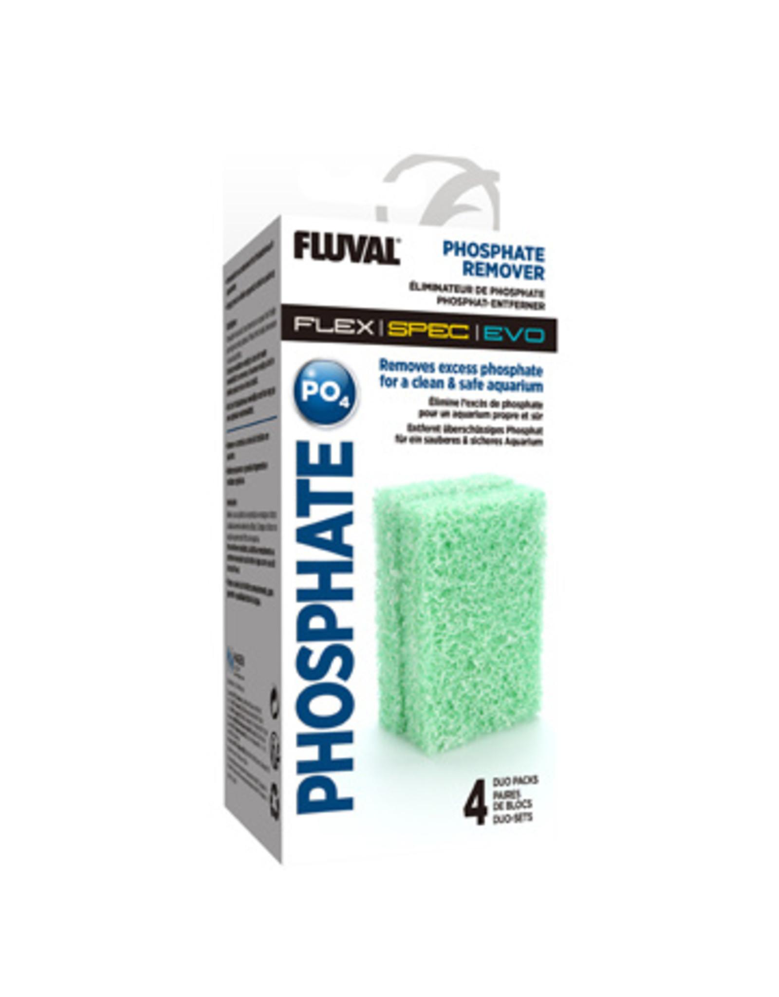 Fluval FLUVAL Phosphate Remover refill for Flex/Spec/Evo 4 x Duo Pack