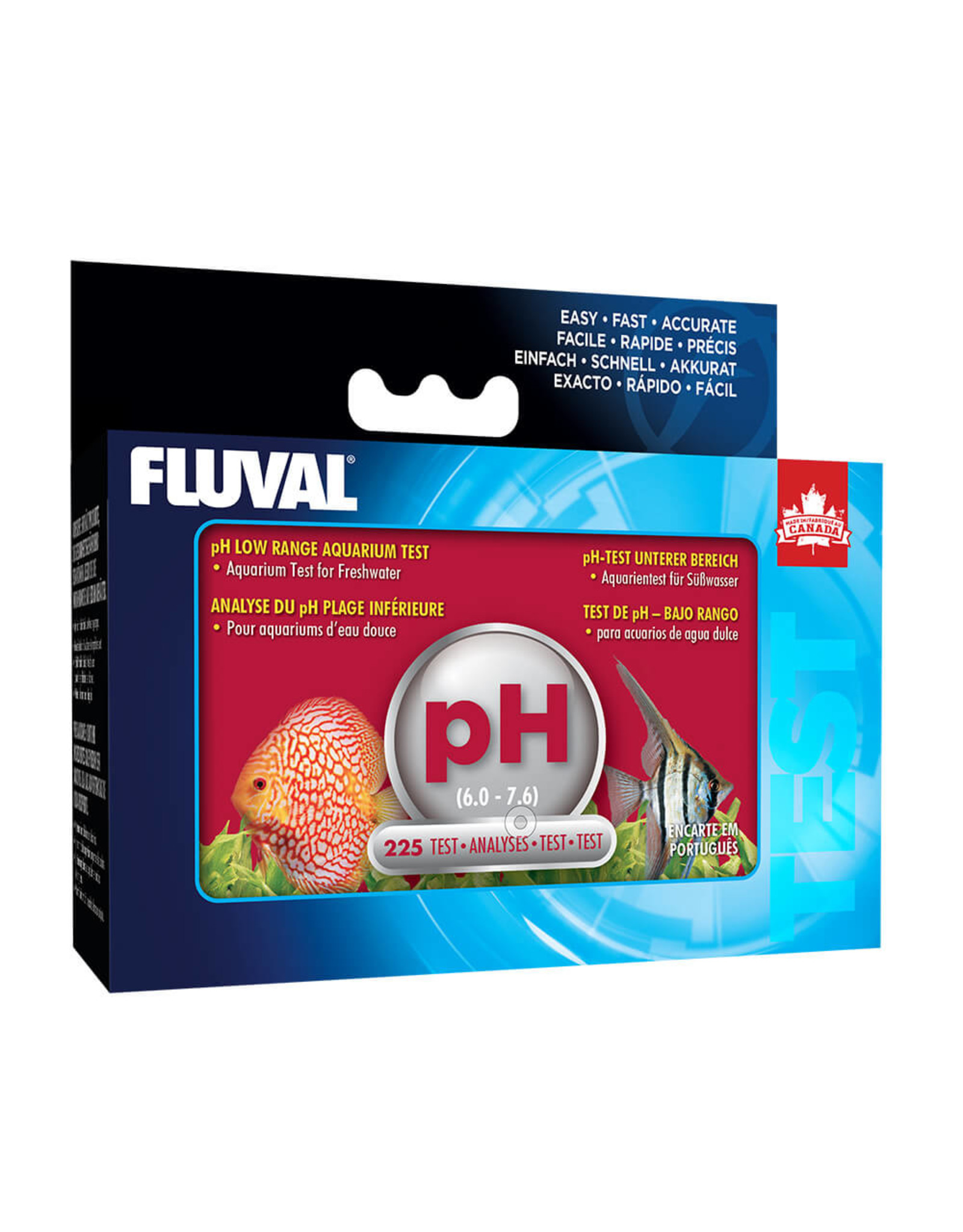 Fluval FLUVAL Ph Low Range for Freshwater 225 Test