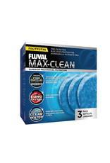 Fluval FLUVAL FX4/5/6 Max-Clean Fine Filter Pad -3 Pack