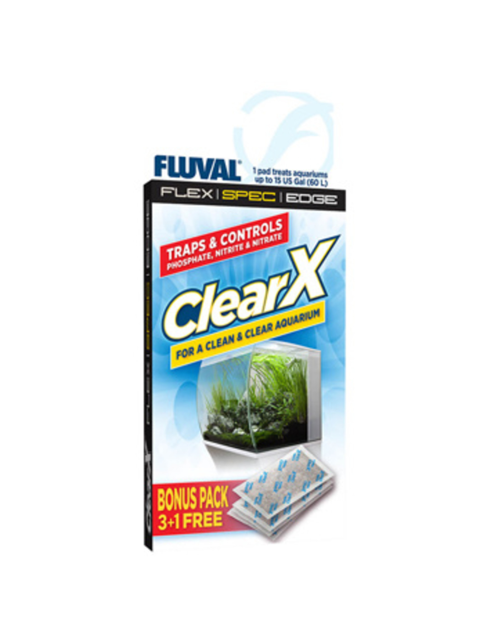Fluval FLUVAL ClearX 3 Pack +1 Free