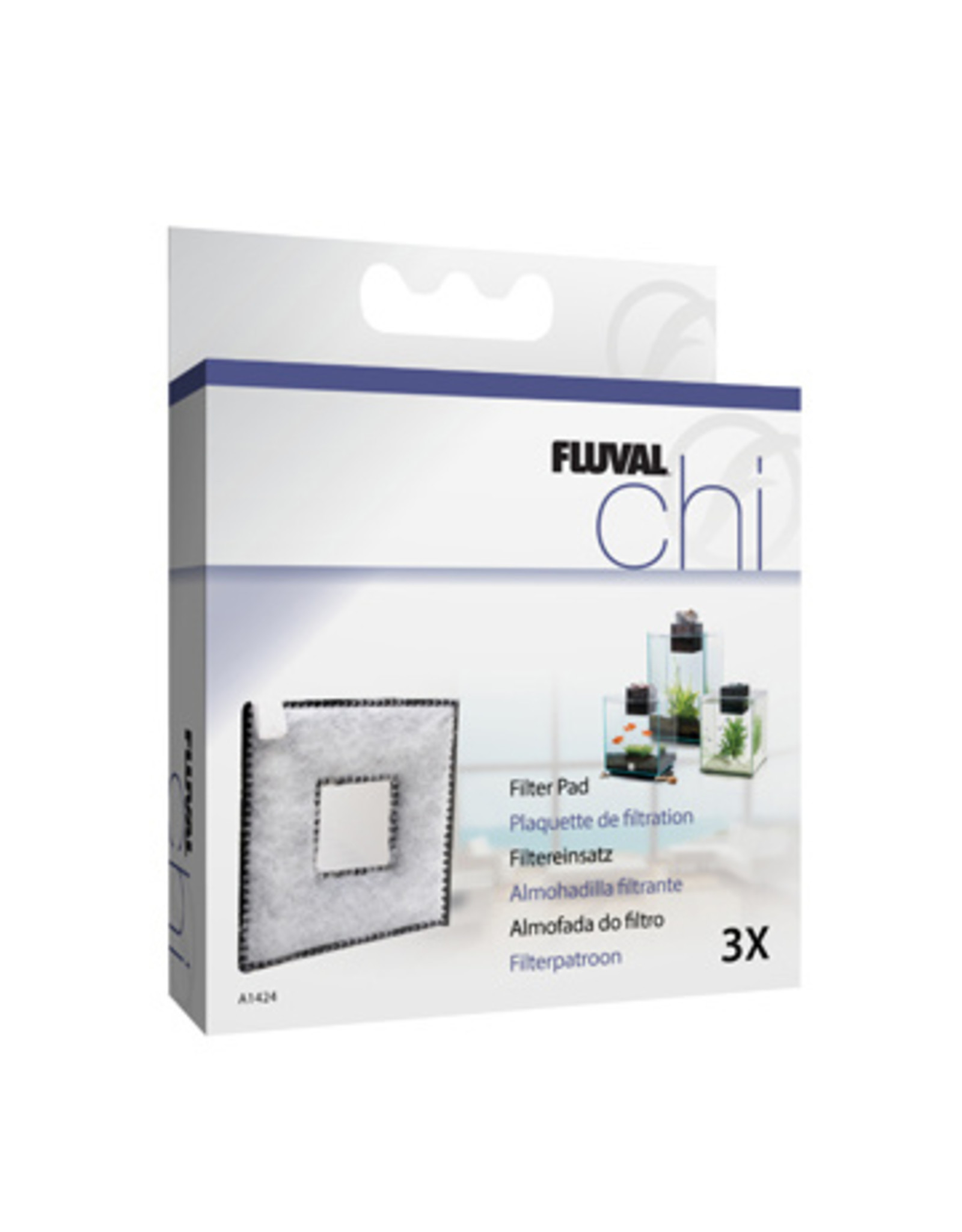 Fluval FLUVAL CHI I & II Replacement Filter Pad 3 Pack