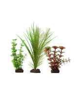 "Fluval FLUVAL Aqualife Plant Scape Red Limnophila 3 Plant Set 4-8"""