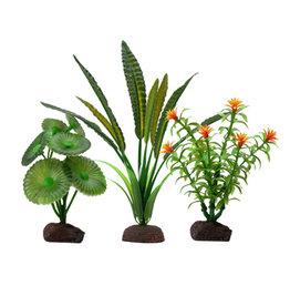 "Fluval FLUVAL Aqualife Plant Scape Elodea 3 Plant Set 4-8"""