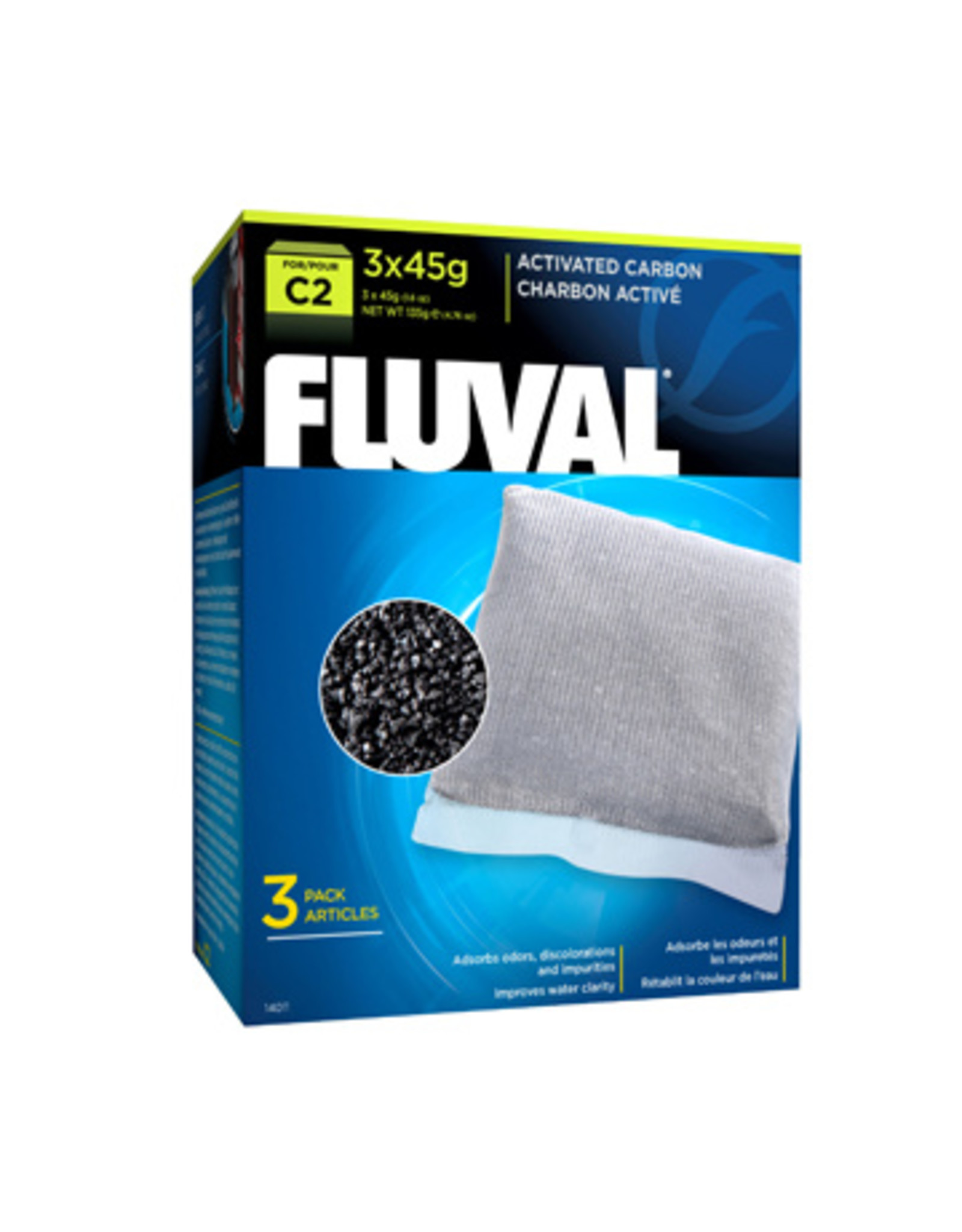 Fluval FLUVAL Activated Carbon C Series Replacement 3 Pack
