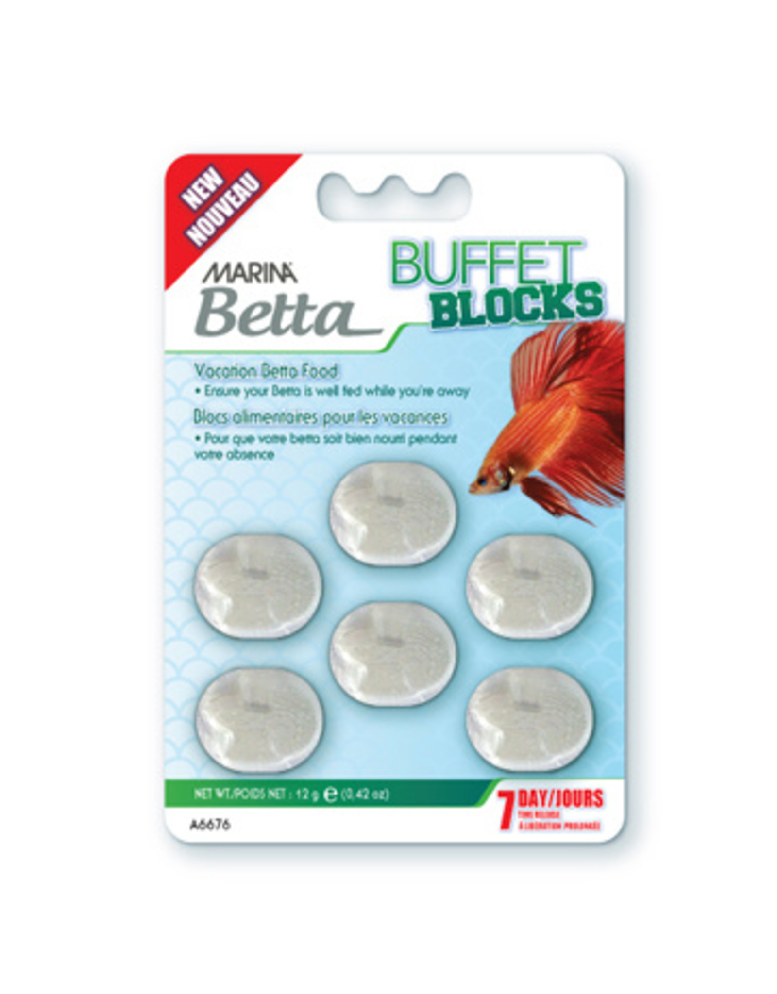 Marina MARINA Betta Vacation Block Food, 12g