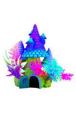 """Marina MARINA iGlo Fantasy House with Plants, 8"""""""