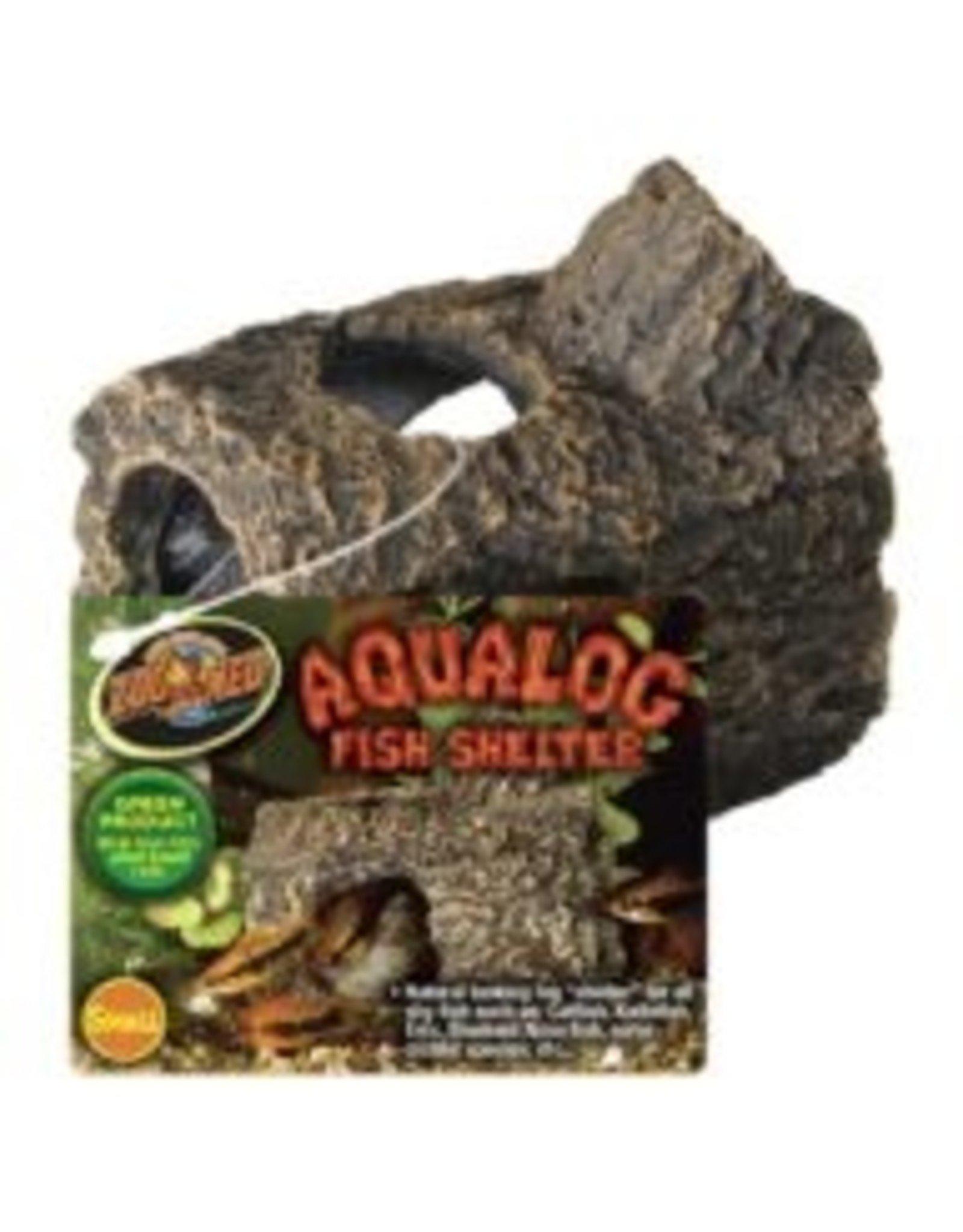Zoo Med ZOO MED Aqualog Sinking Fish Shelter