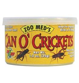 Zoo Med ZOO MED Can O Crickets 1.2oz