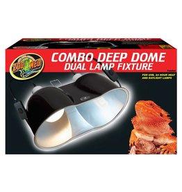 Zoo Med ZOO MED Combo Deep Dome Lamp Fixture 160 watt Fixture