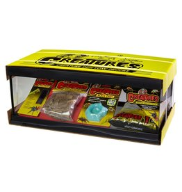 Zoo Med ZOO MED Creatures Den Low Profile Habitat Kit 6 gallon 10.5 inch x 20.5 inch x 8