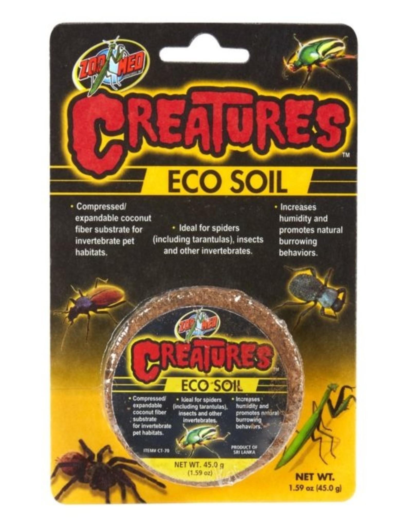 Zoo Med ZOO MED Creatures Eco Soil (Coconut Fiber Puck) 45 gram