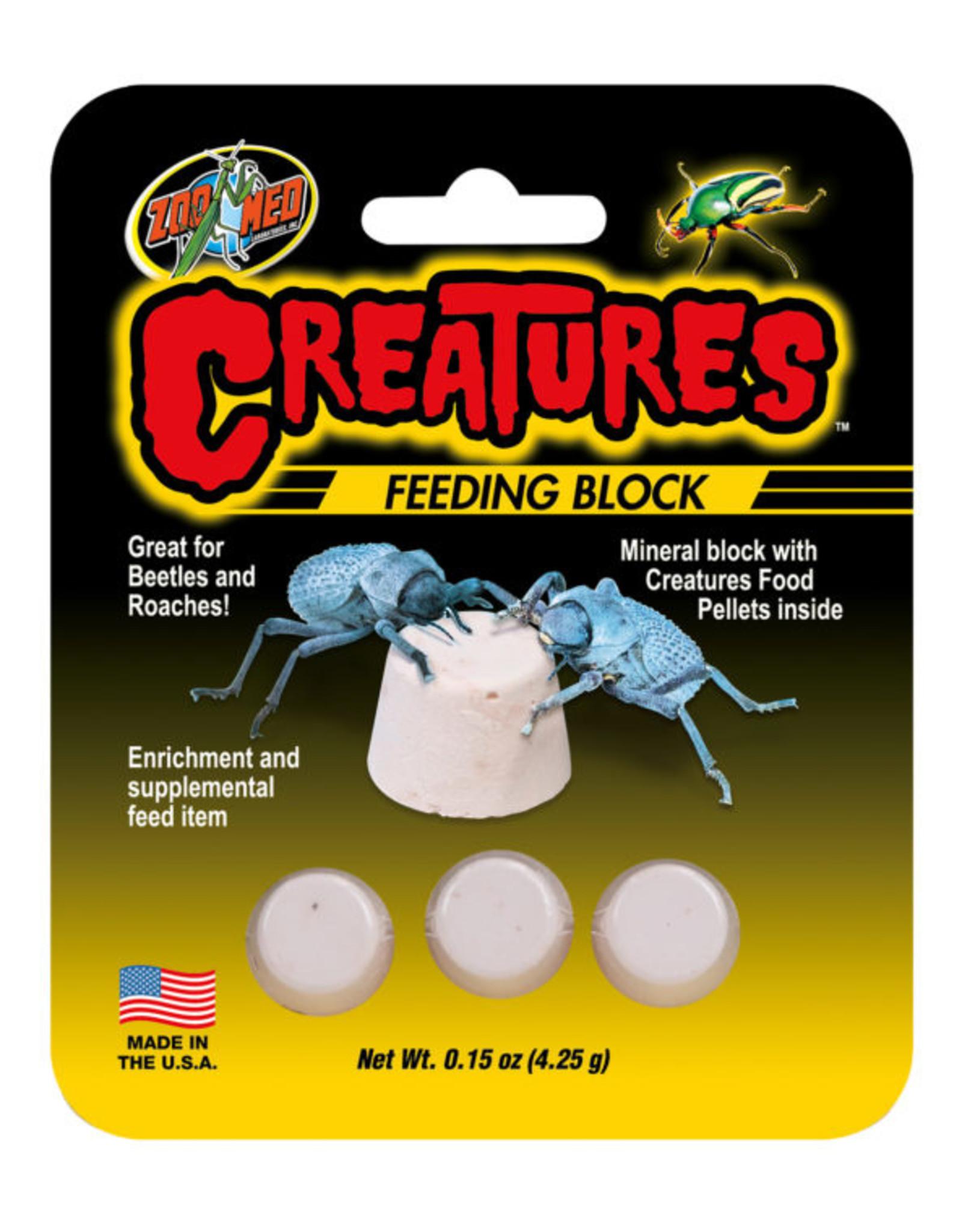 Zoo Med ZOO MED Creatures Feeding Block 0.15oz