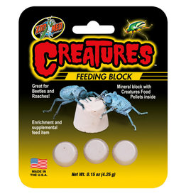 Zoo Med ZOO MED Creatures Feeding Block 0.15oz