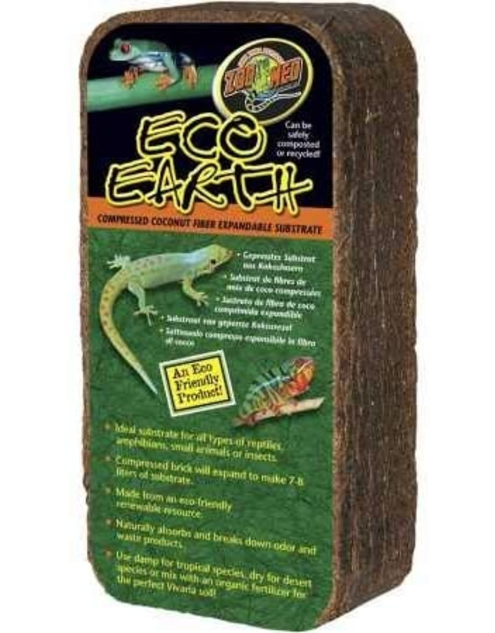 Zoo Med ZOO MED Eco Earth Compressed Brick (~7-8L)