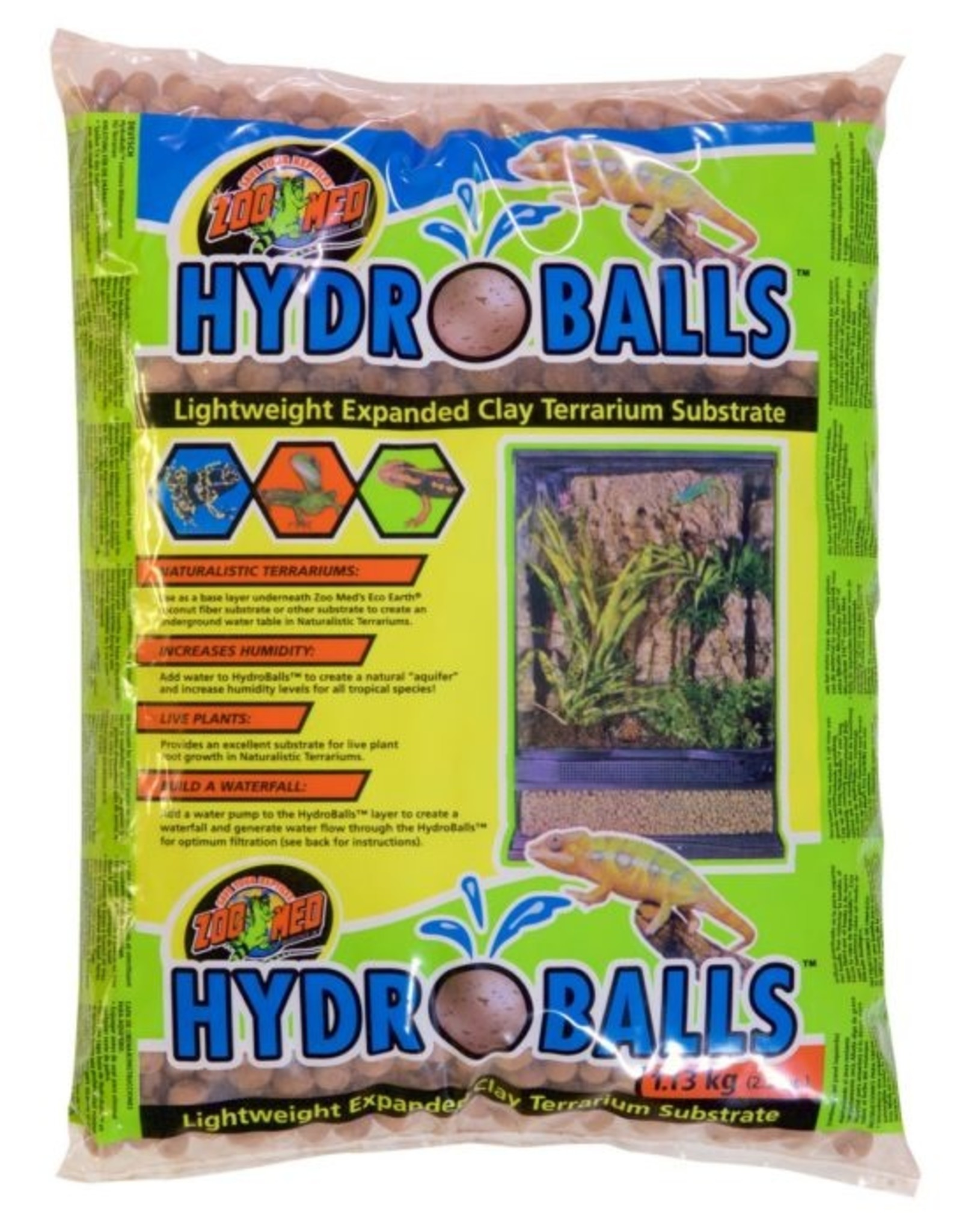 Zoo Med ZOO MED Hydroballs 2.5lb Clay Pellet Substrate