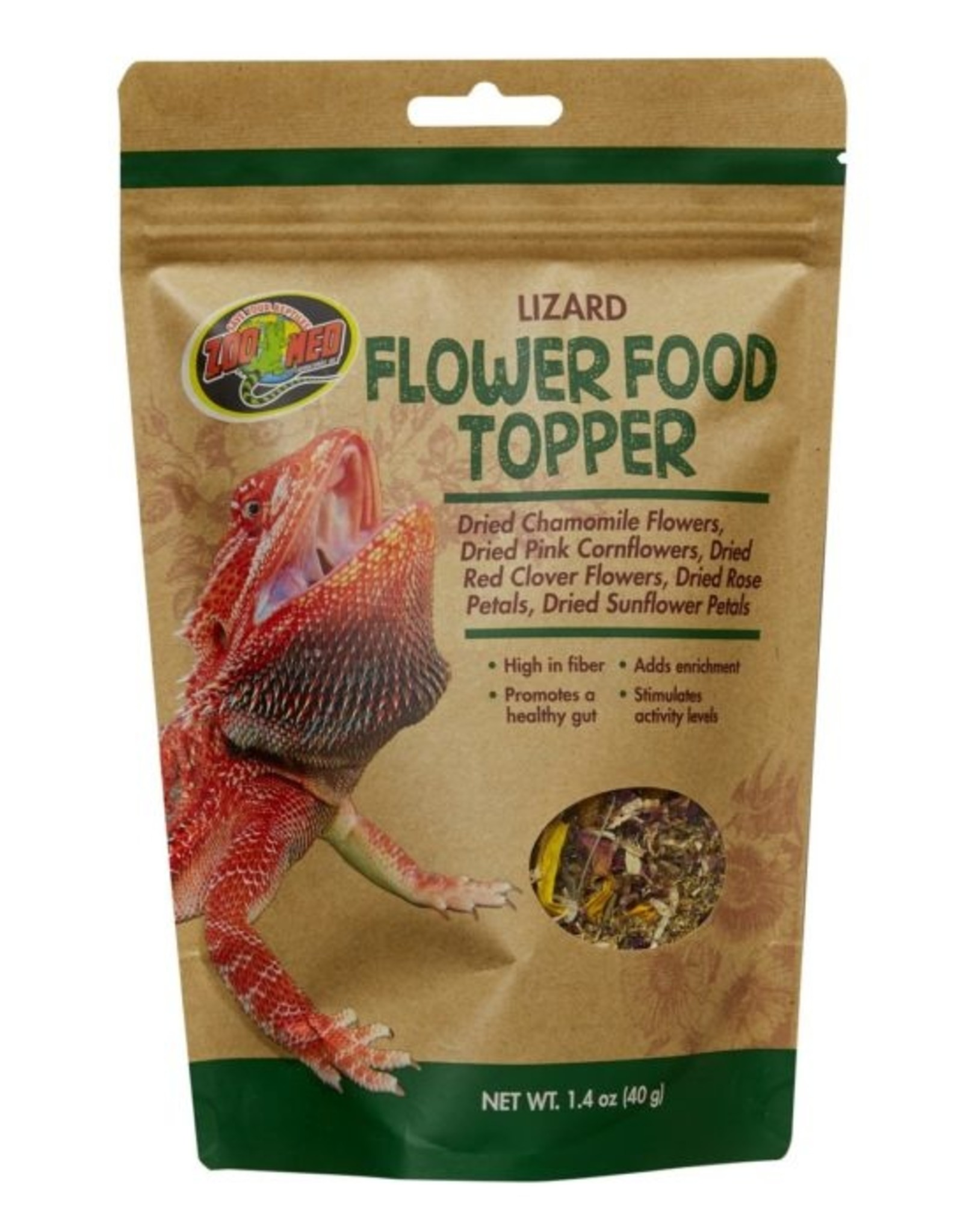 Zoo Med ZOO MED Lizard Flower Blend Food Topper