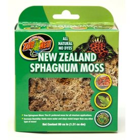 Zoo Med ZOO MED New Zealand Sphagnum Moss 80Cu In