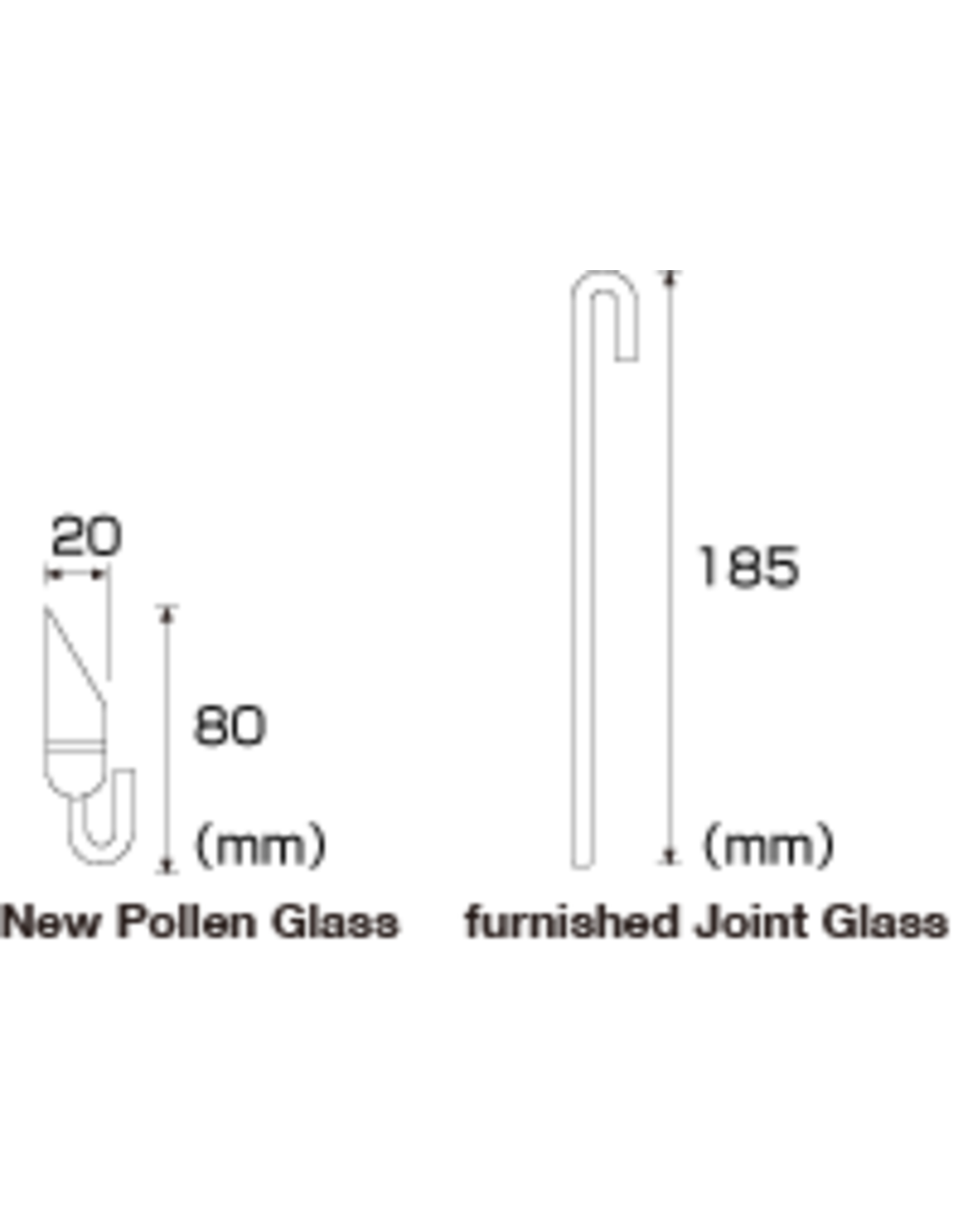 ADA ADA Pollen Glass with furnished joint glass CO2