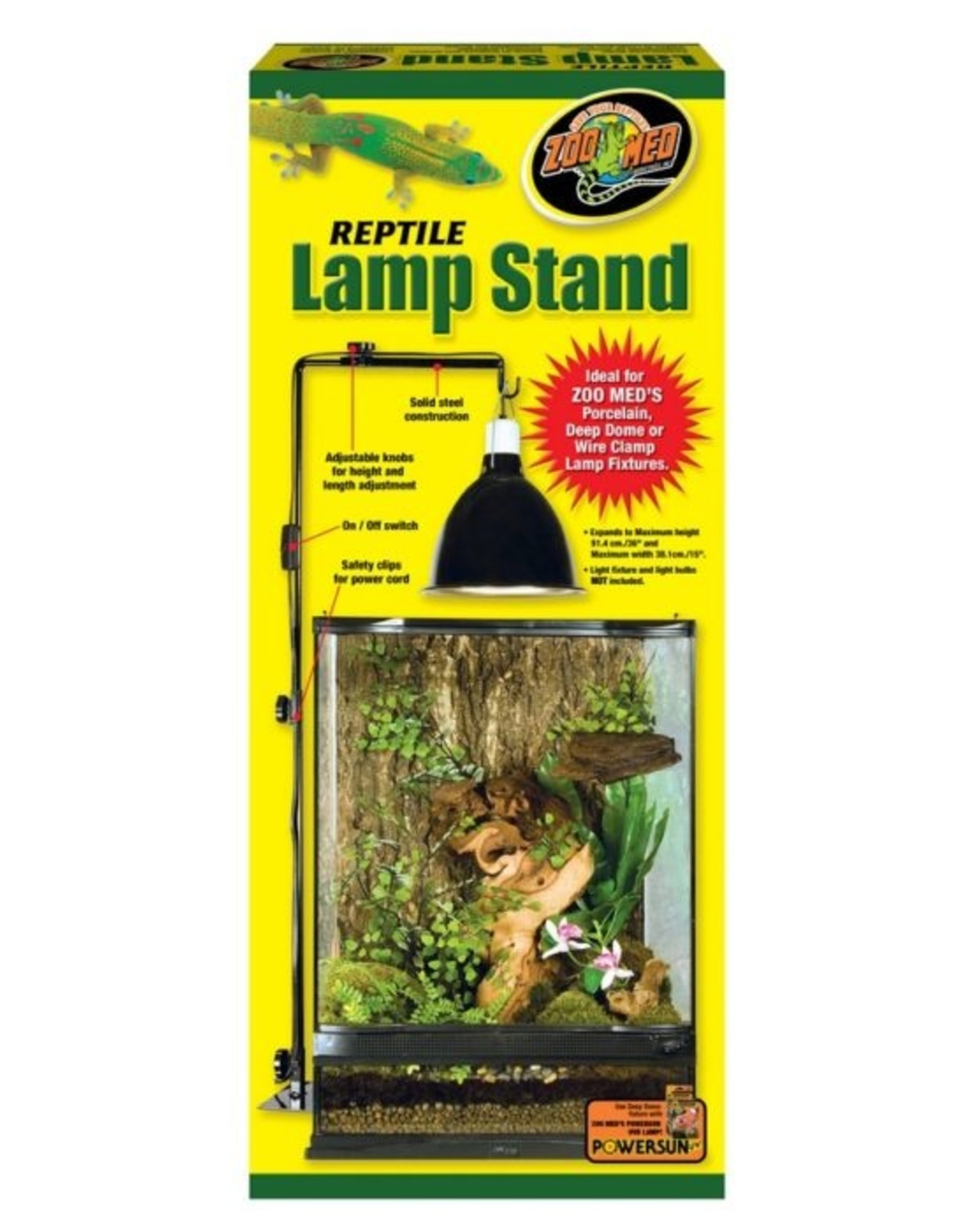 Zoo Med ZOO MED Repti Clamp Lamp Stand 20 100 gallon