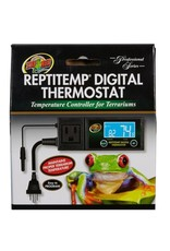 Zoo Med ZOO MED ReptiTemp Digital Thermostat Temperature Controller for Terrariums