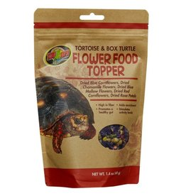 Zoo Med ZOO MED Tortoise and Box Turtle Flower Blend Food Topper