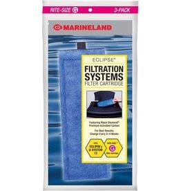 Marineland MARINELAND Rite Size Cartridge G 3 Pack