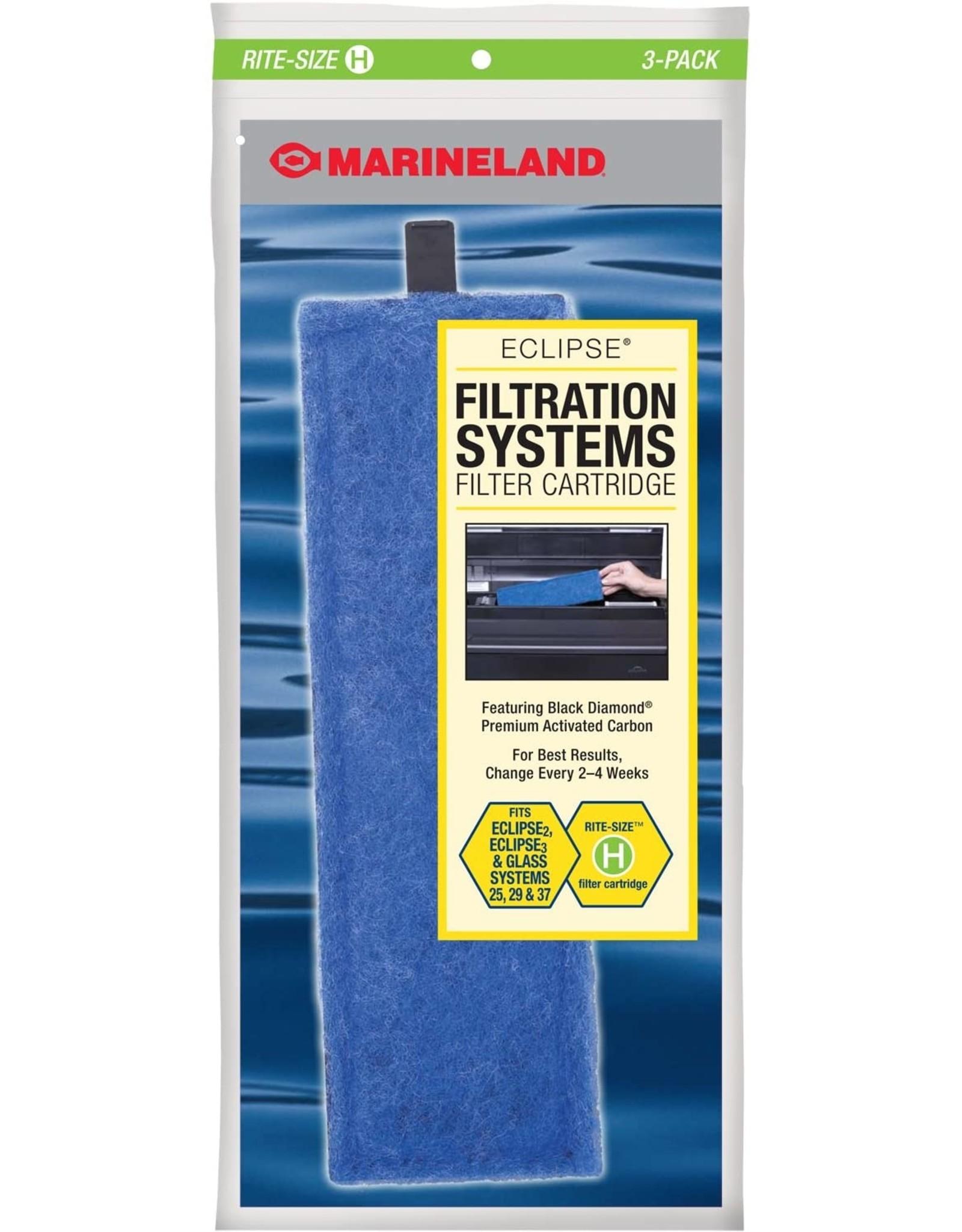 Marineland MARINELAND Rite Size Cartridge H 3 Pack