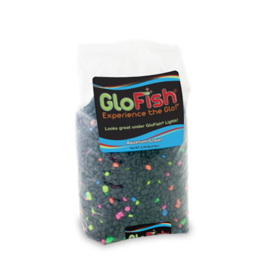 Tetra TETRA GloFish Gravel Black w/Fluorescent Highlights 5lb