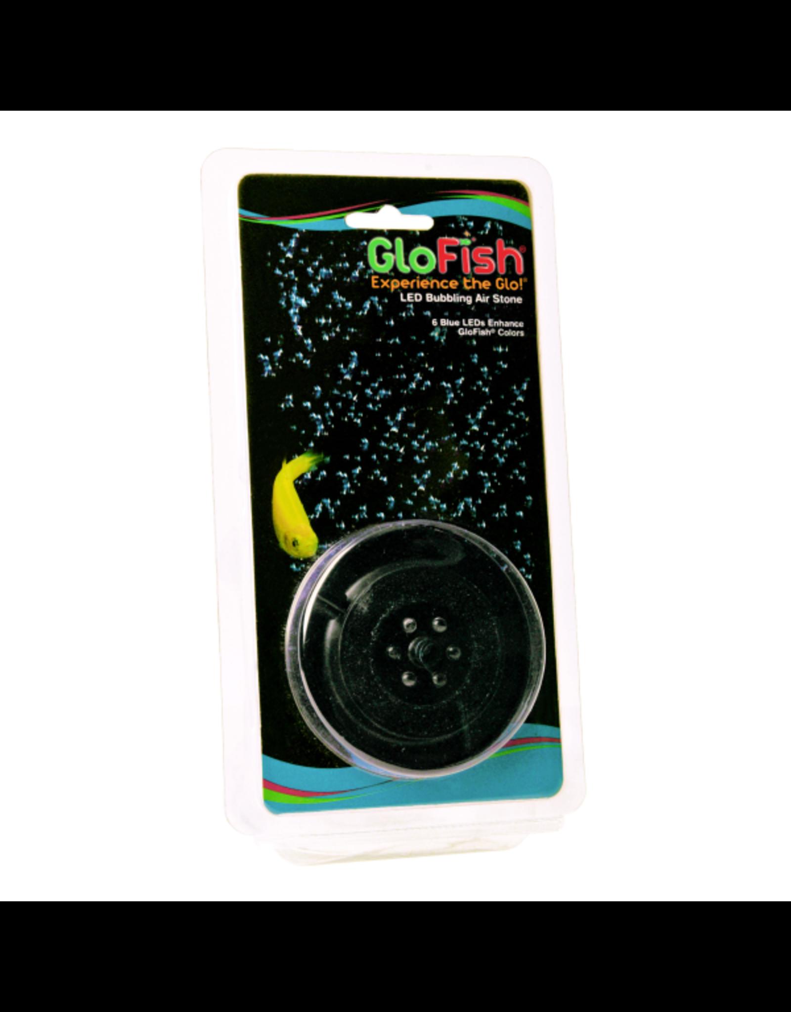 Tetra TETRA GloFish Round Bubbler with 6 Blue LEDS