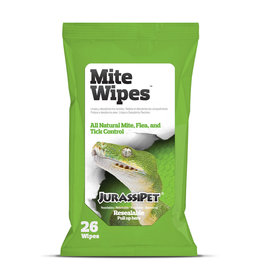 JurassiPet JURASSIPET Mite Wipes 26 count