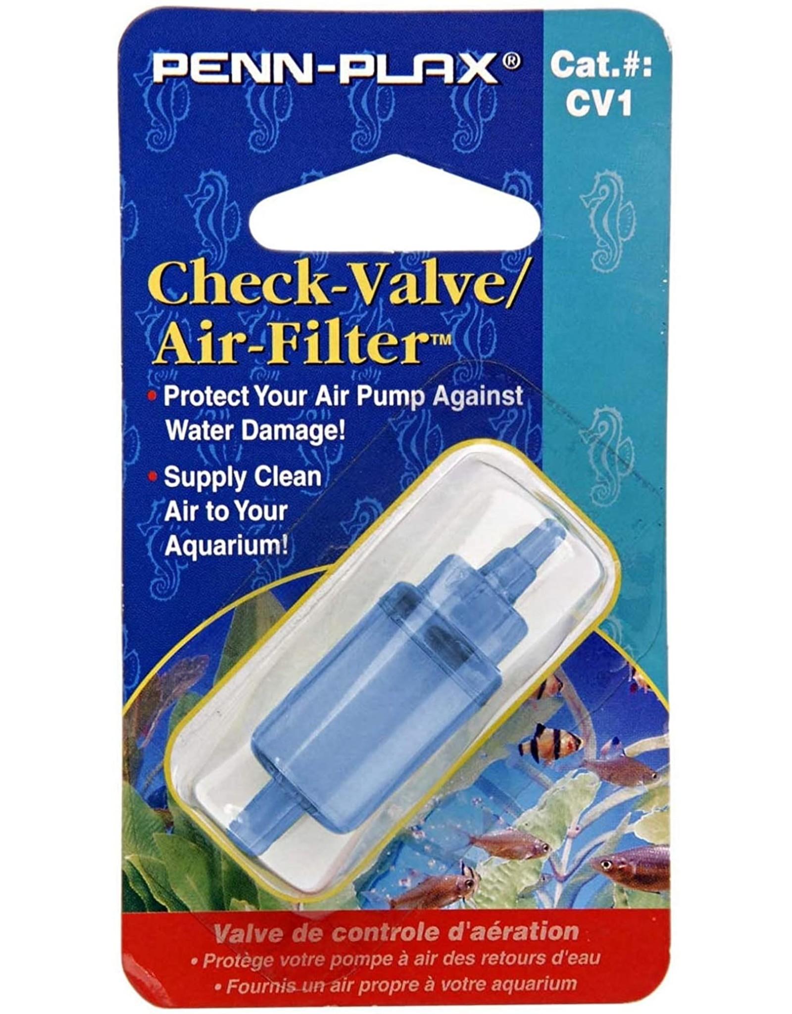 Penn Plax PENN PLAX Check Valve with Air Filter