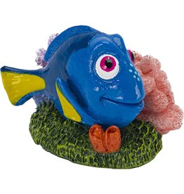 Penn Plax PENN PLAX Finding Nemo Dory with Coral Mini Resin Ornament Licensed