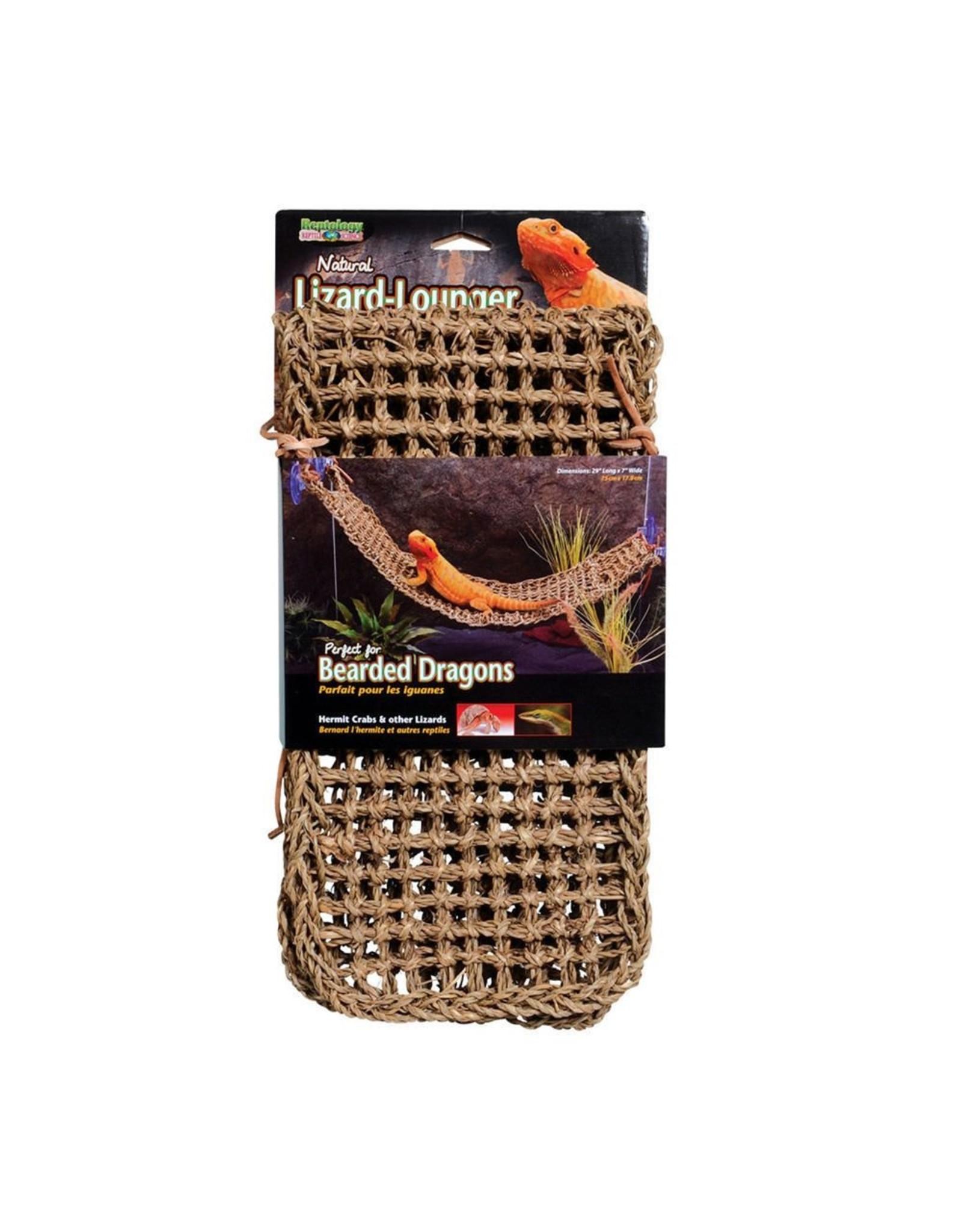 Penn Plax PENN PLAX Natural Lizard Lounger Hammock Xlarge