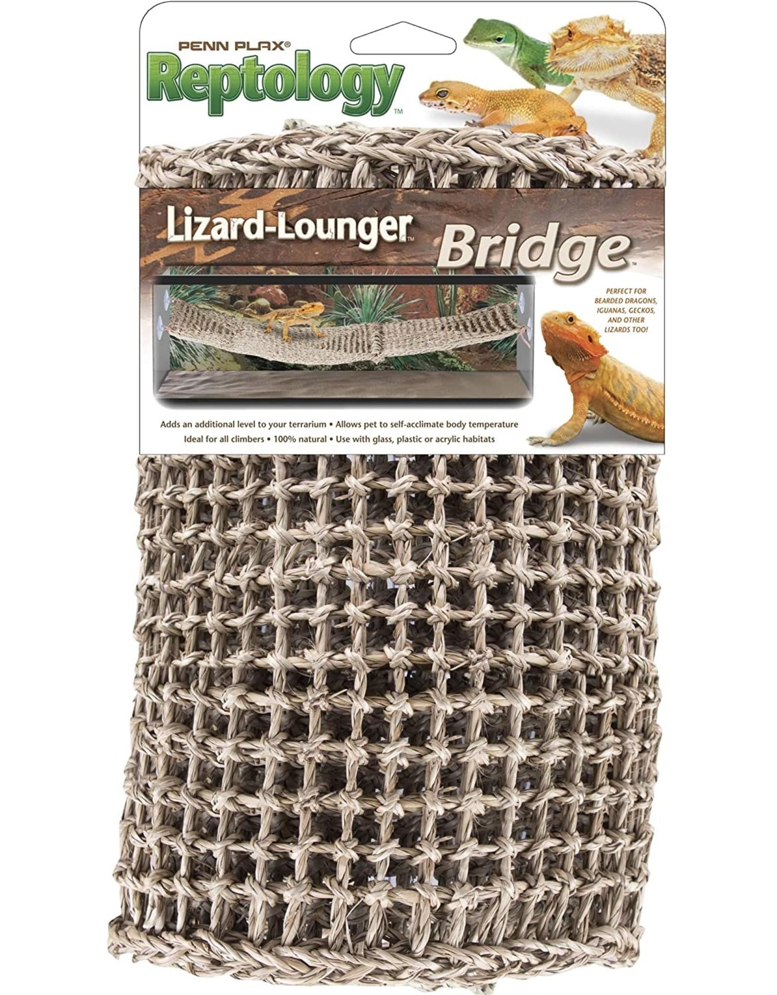 Penn Plax PENN PLAX Natural Lizard Lounger Bridge