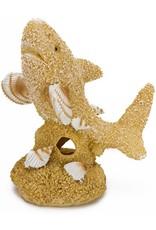 Penn Plax PENN PLAX Sand & Shell Shark Ornament