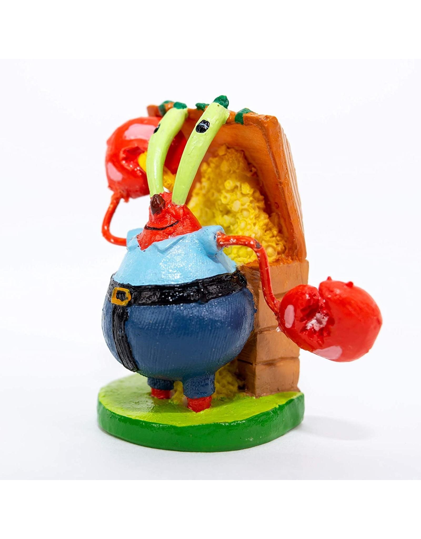 Penn Plax PENN PLAX Spongebob Ornament Mini Mr. Crabs Licensed