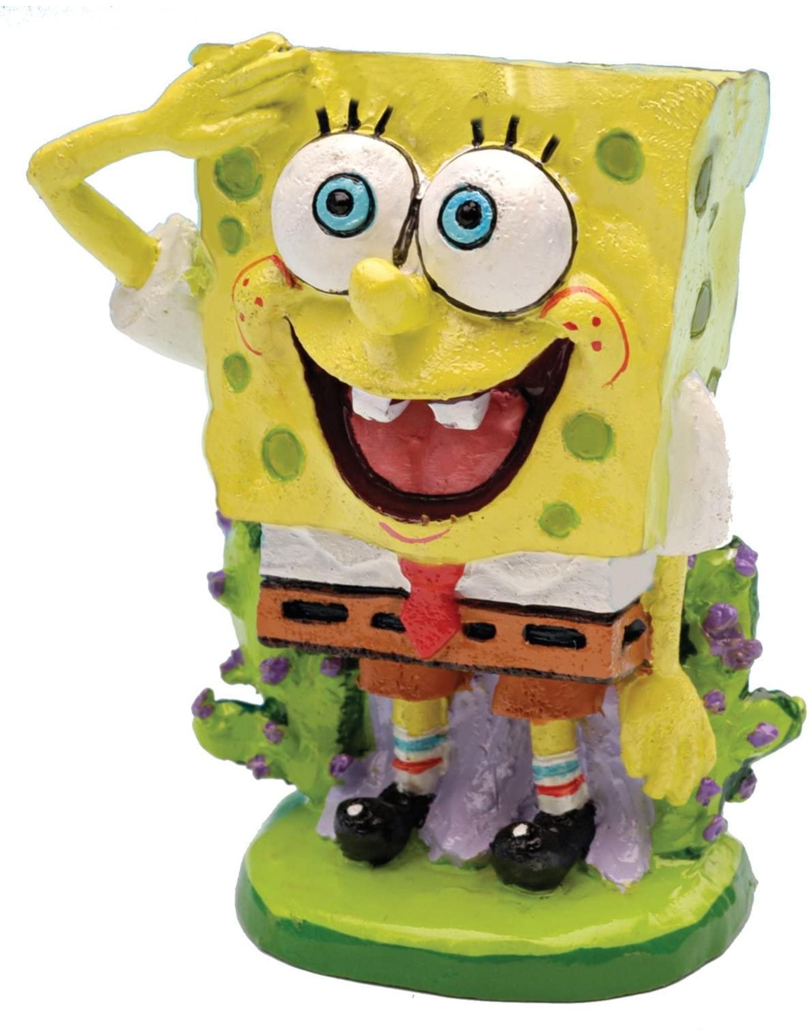 Penn Plax PENN PLAX Spongebob Ornament Mini Spongebob Licensed