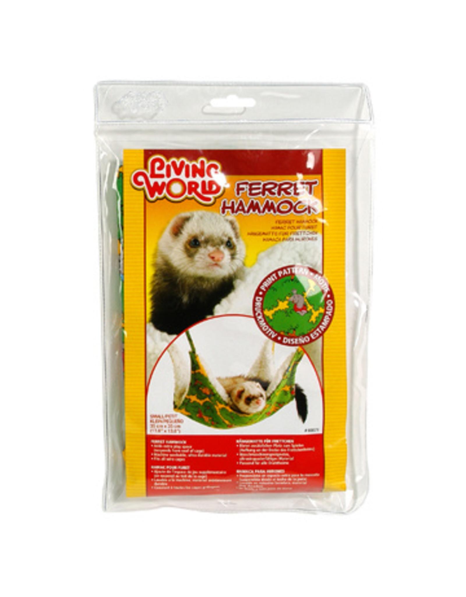 Living World LIVING WORLD Ferret Hammock, Green 35cmx35cm