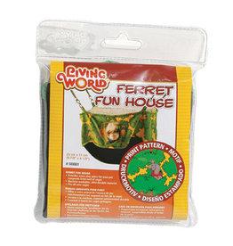 Living World LIVING WORLD Ferret Play House, Green