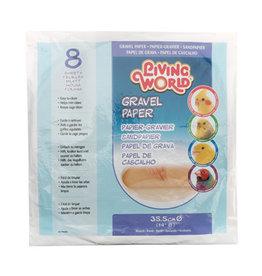 """Living World LIVING WORLD Gravel Paper Round 35.5cm/14"""" 8 Sheets"""