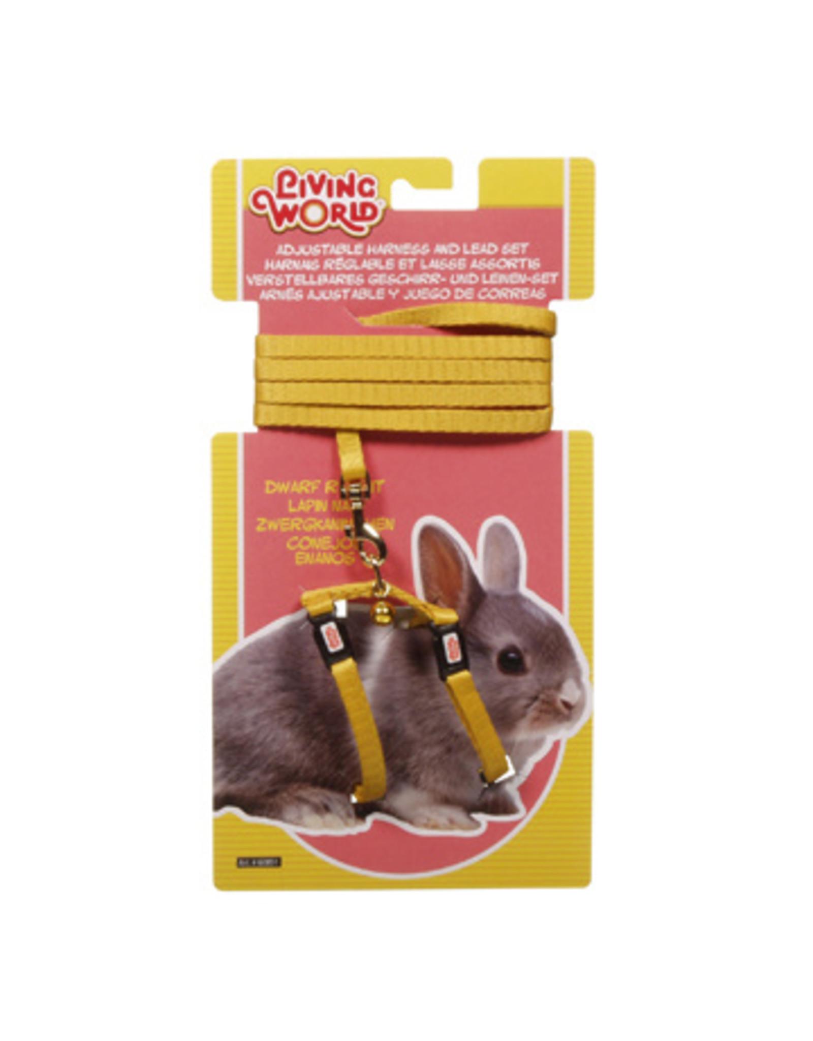 Living World LIVING WORLD Harness & Lead Set Dwarf Rabbit