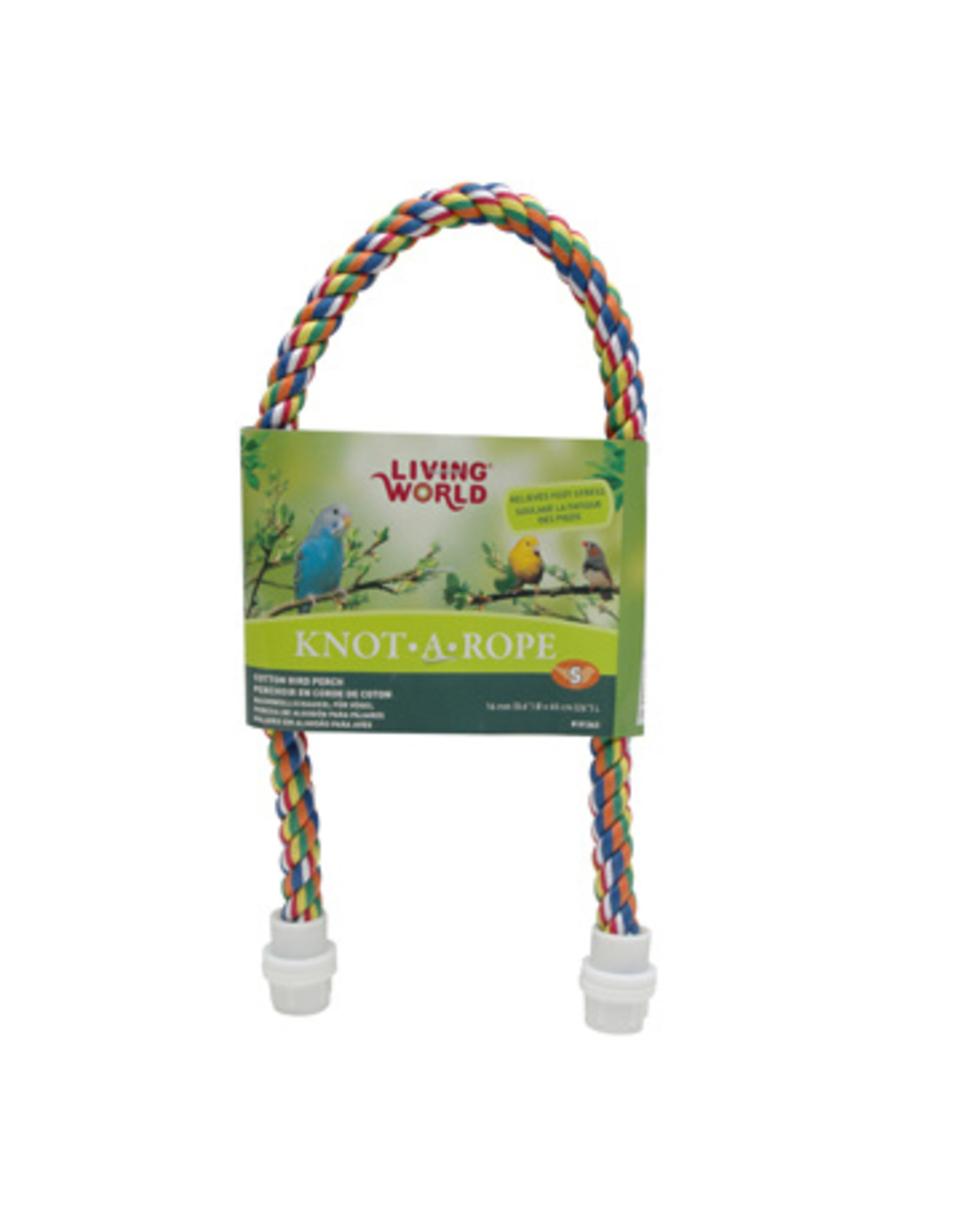 Living World LIVING WORLD Knot-A-Rope Cotton Perch