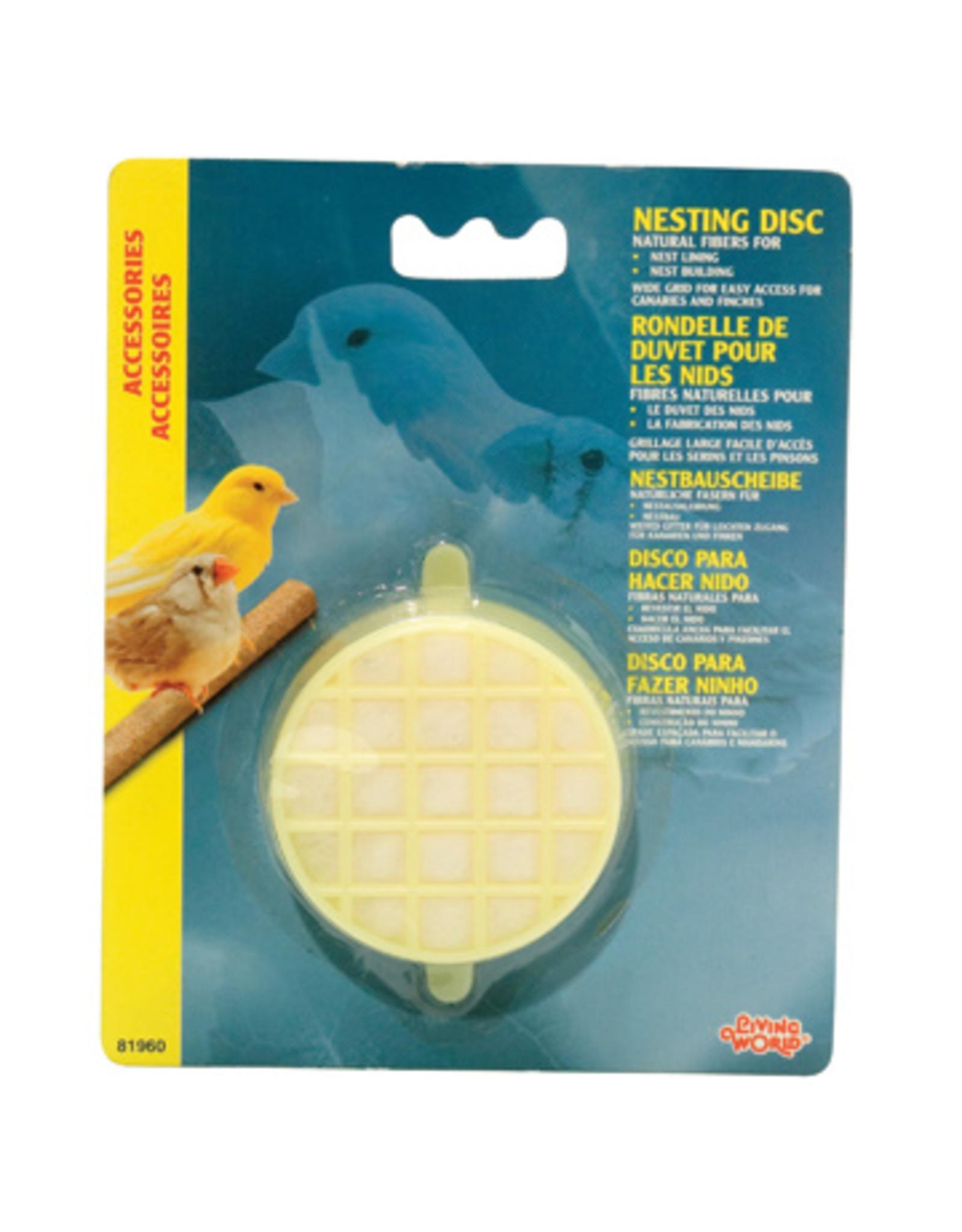 Living World LIVING WORLD Nesting Disc Material Fiber