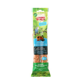 Living World LIVING WORLD Budgie/Parakeet Sticks Fruit 60g