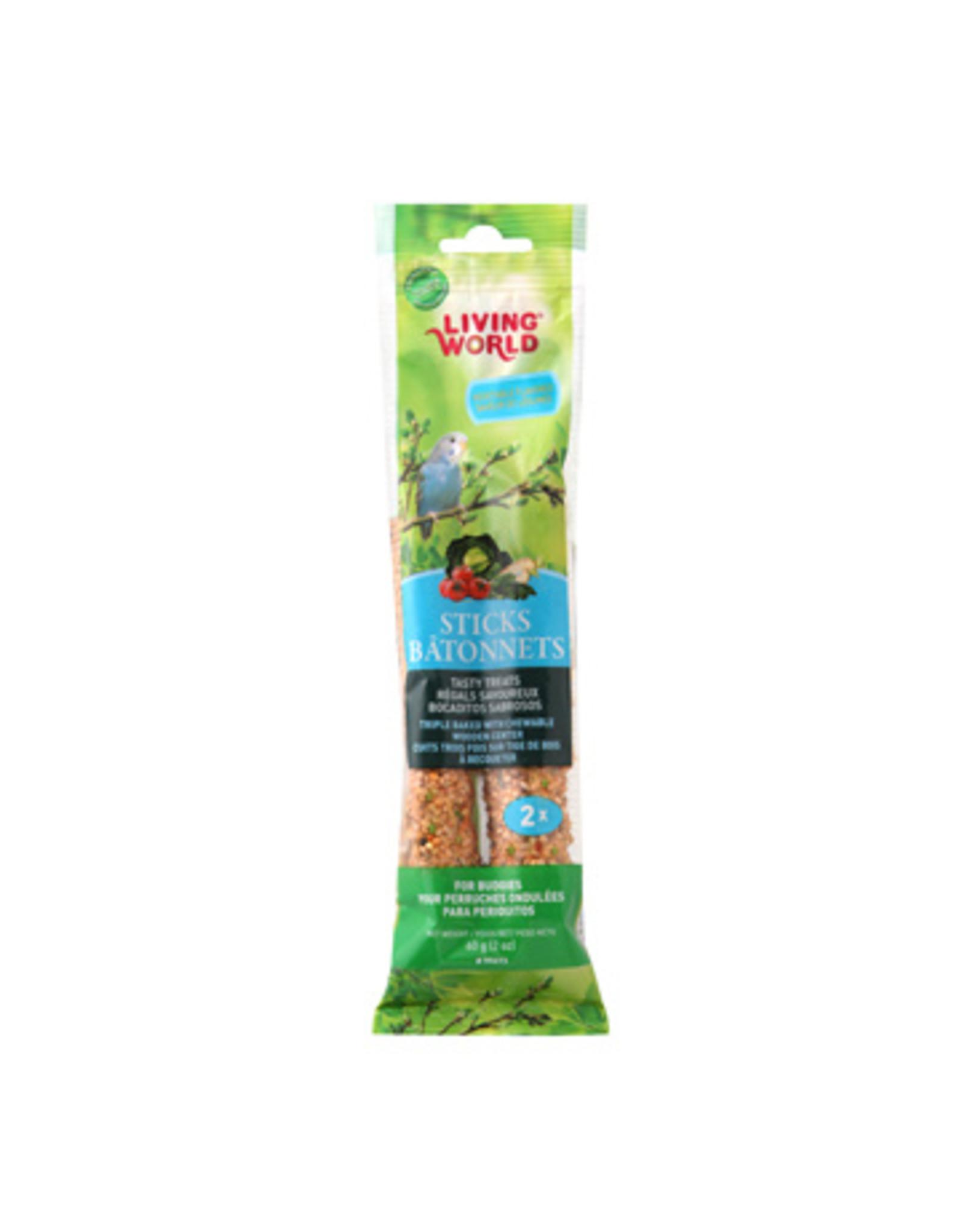 Living World LIVING WORLD Budgie/Parakeet Sticks Vegatable 60g