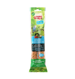Living World LIVING WORLD Budgie/Parakeet Sticks Vegatable 60g