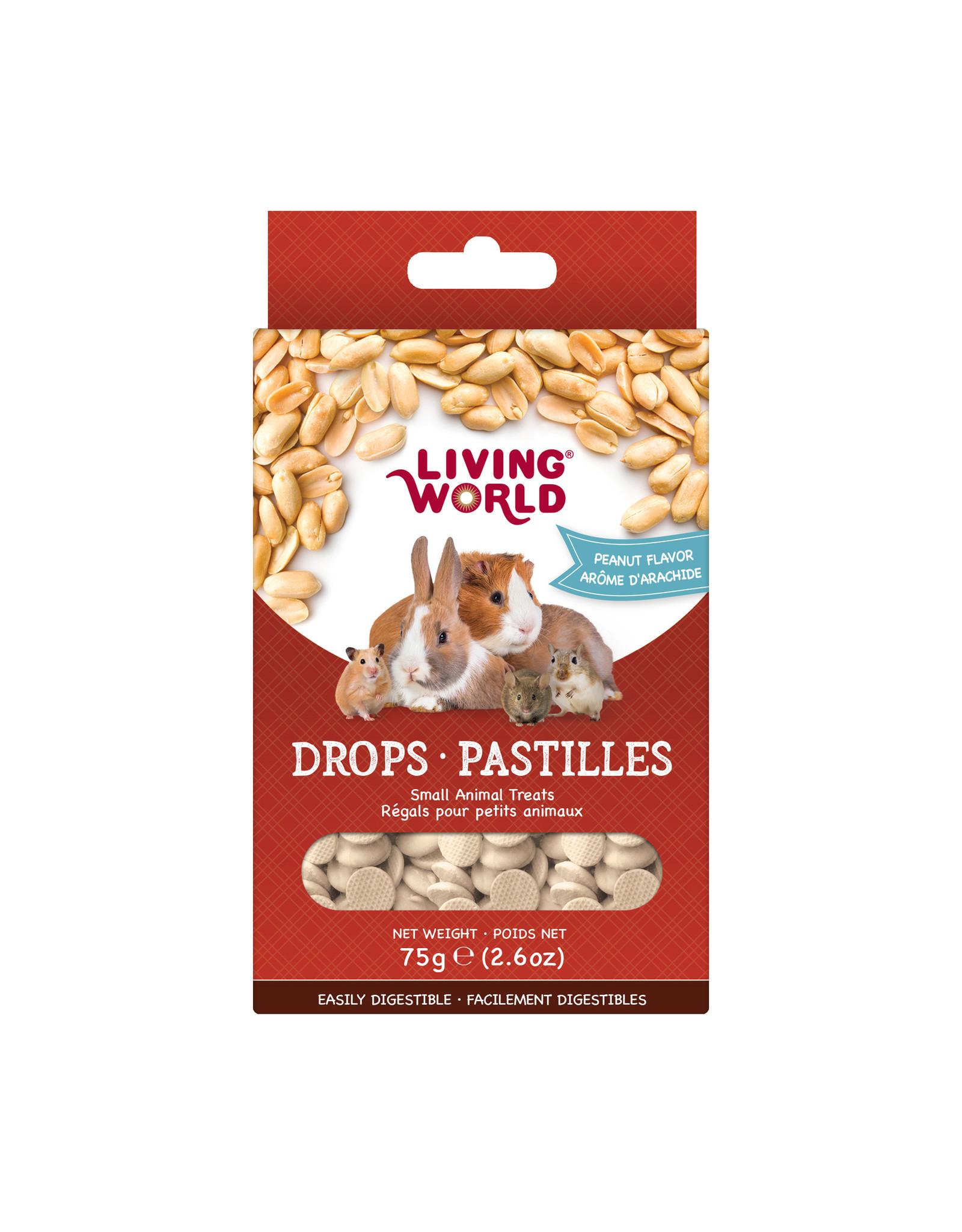Living World LIVING WORLD Small Animal Drops 75g