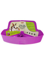 Living World LIVING WORLD Small Animal Litter Box, Purple