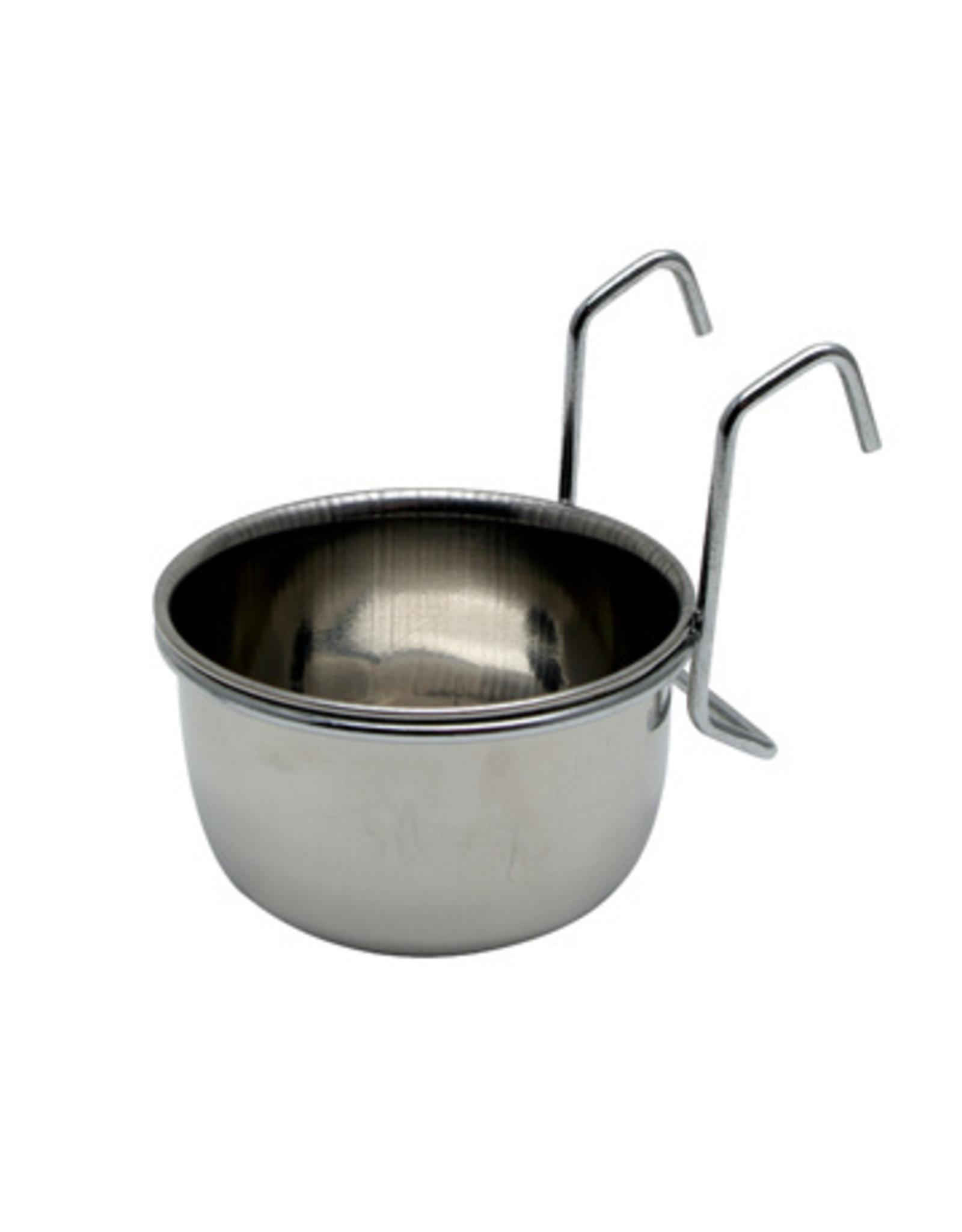 Living World LIVING WORLD Stainless Steel Dish w/ Hooks