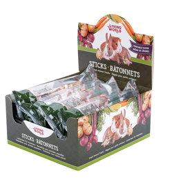 Living World LIVING WORLD Small Animal Sticks Vegetable 45g